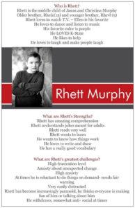 Positive Student Profile