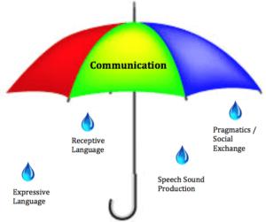 Communication umbrella